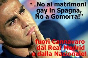 Cannavaro ha offeso la Spagna e gli Italiani onesti!
